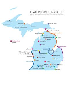 Featured Destination Locations - Pure Michigan Travel