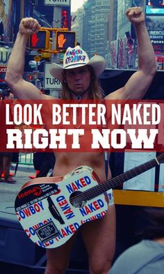 Don't wait until you lose that last 5 or 10 pounds. Look better naked RIGHT NOW. Really!