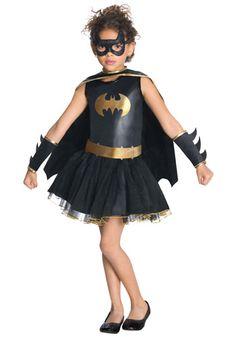 Girls Tutu Batgirl costume #Batman #Halloween