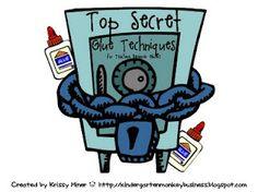 Mrs. Miner's Top Secret Glue Techniques!