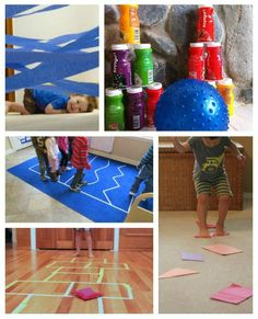 Creative ways to let the kids burn off energy and enjoy some time indoors!