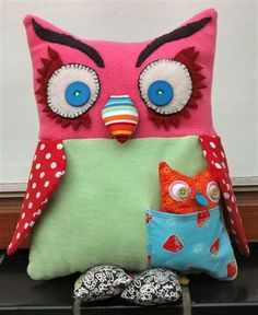 Owl softie 1 by Helena C. from Holland, via Flickr