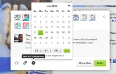 Hallelujah! Buffer Adds Custom Scheduling, One of the App's Most Requested Features