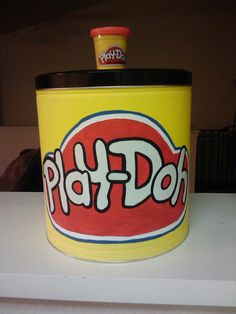 Recycle popcorn tins for kids toys