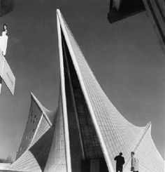 Philips Pavilion by Le Corbusier and Iannis Xenakis