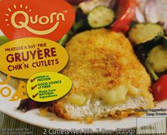 Quorn Meatless & Soy Free Gruyere Chik'n Cutlets