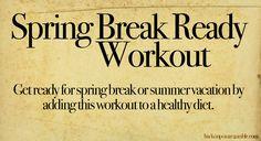 Spring Break Workout