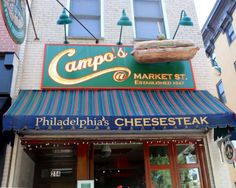 Cheesesteaks from Campo's Deli in Old City