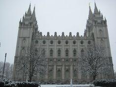 Temple Square in Salt Lake City, UT