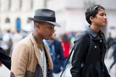 Pharrell Williams, Helen Lasichanh, Paris