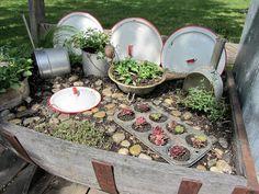 Organized Clutter: My Top Flower/Junk Garden Posts of 2012