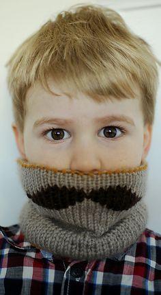 mustache party, moustach, pattern, kid fun, crochet, cowl, kids, scarv, little boys