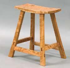 Stool by Dannie Salas via Woodworker's Journal: http://www.woodworkersjournal.com/wiw/Gallery.aspx