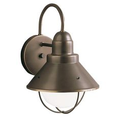 "Kichler Seaside 12"" High Outdoor Wall Light 