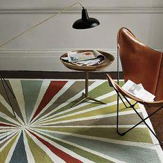 cool retro rug