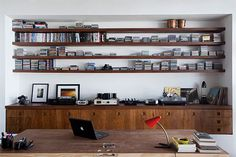 Oscar Niemeyer's refurbished loft