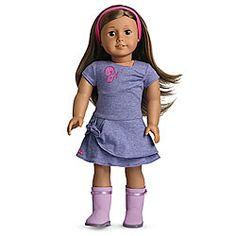 American Girl® Clothing: Butterfly Twist Dress for Dolls + Charm