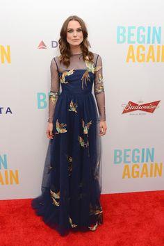 Keira Knightley in Valentino - 'Begin Again' New York Premiere