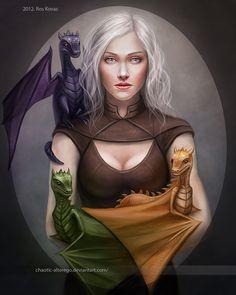 Daenerys Targaryen by Chaotic-AlterEgo