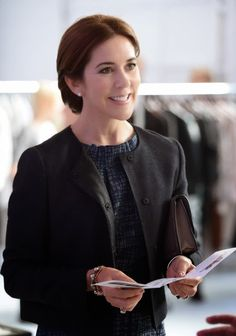 Crown Princess Mary Of Denmark attends official visit to Canada - Day 2 on 18.09.14 in Toronto