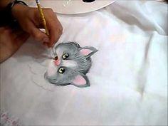 Pintando Fraldas 2 - Gatinho - Ariane Cerveira