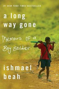Loved this memoir! Ishmael Beah gives an inside look at something most of us can't even comprehend.