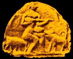 "Found by American archaeologists between the Tigris & Euphrates rivers, the discovery made of ancient Nippur, a city of ancient Babylon (The oldest culture of humanity - the Sumerians) according to Talmudic tradition ""Calneh in the land of Shinar"" one of the four capitols in Nimrods realm (Genisis x, 10).  Now in Philladelphia Museum"