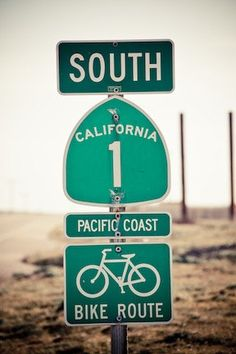 Bicycle the Pacific coast