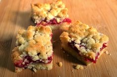 Cran Raspberry Crumb Bars Recipe & $100 Giveaway!