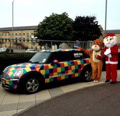 #ParkInn #Peterborough spreading the festive spirit in the Town Center http://www.parkinn.co.uk/hotel-peterborough