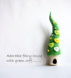 a sweet little fairy house to wear