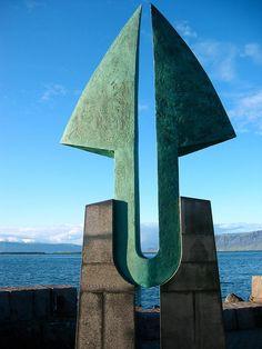 Reykjavik harbour #harbour #art #iceland #reykjavik www.ilove.is - visit us :-)