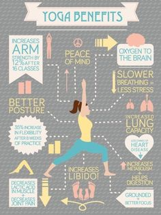 Do you love #yoga? Stress reduction and energy increase are just two of the benefits!