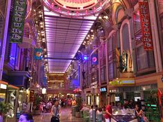 The Royal Promenade on Adventure of the Seas by Will Francis UK, via Flickr