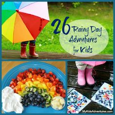Discover 26 rainy day activities to do with your kids.