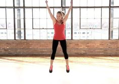 Try this 4-Minute Killer Tabata Workout! You can do it anytime, anywhere - follow along with this video clip.