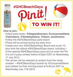 #GHCBeachDays Beach Days scented clothespins http://www.goodhomestore.com/0064be.html