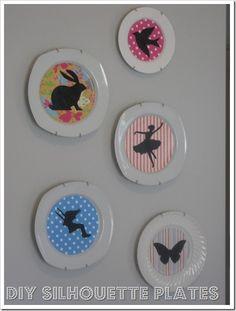 DIY decorative plates