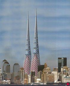 la llum skyscraper by luis de garrido
