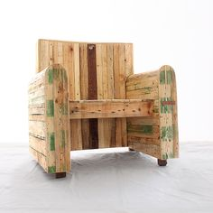 Upcycled Chair by RedoLab