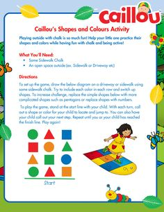 Caillou Summer Learn