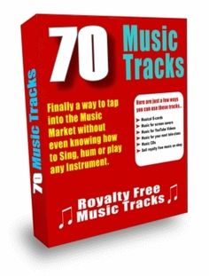 One more very cheap pack of royalty free music from tradebit. Instant download with MRR for your videos!