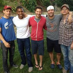 """Some members of Friday Night Lights hung out this weekend. Envious? 