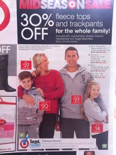 Target's recent Photoshop mess up... Do you see it?? It took me a while