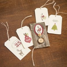 christma tag, stamp, petit pocket, pocket pet, ink pads, gift tags, holiday gifts, birds, wood grain
