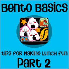 bento basic lunch tips