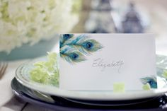 Downloadable template for beautiful place cards by @craftberrybush