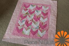 Piece N Quilt: baby chevrons