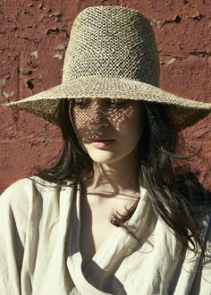 Clyde Pinch Panama Hat in Seagrass | Beautiful Dreamers