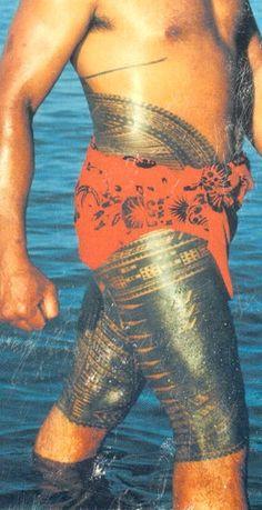 Traditionally Tattooed Samoan Men - Bing Images